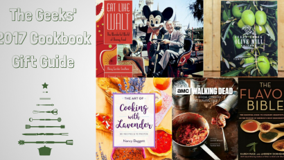 Cookbooks | Cooking | Recipes | In their 2017 Cookbook Gift Guide, the Geeks are sharing some of their favorite cookbooks. From geeky to traditional, there is one for everyone! 2geekswhoeat.com