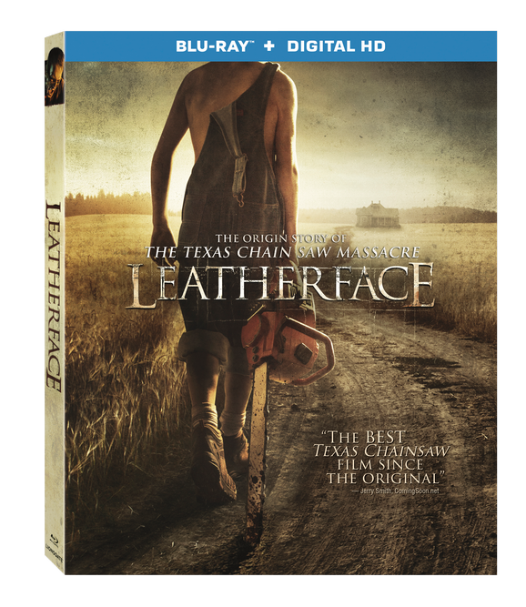 Leatherface BD Cover
