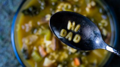Soup Recipes | Disney Recipes | Vegetarian Recipes | The Geeks have restarted their partnership with Phoenix Public Market and are bringing their personality to the recipes starting with Hi Dad Soup inspired by A Goofy Movie. [sponsored] 2geekwhoeat.com