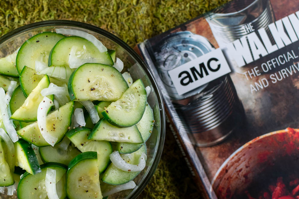 The Walking Dead | Cookbooks | Geeky Recipes | Walking Dead Recipes | The Geeks review the Insight Editions' The Walking Dead: The Official Cookbook and Survival Guide. They discuss the geeky recipes inspired by the AMC hit series. 2geekswhoeat.com