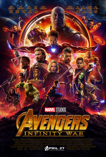 Avengers: Infinity Wars Poster