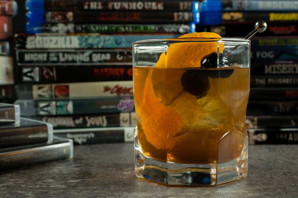 Cocktail Recipes | Classic Cocktails | The Geeks interviewed International Horror and Sci-Fi Film Festival Director Monte Yazzie and talk about the Phoenix Film Festival and get a great recipe for an Old Fashioned. 2geekswhoeat.com