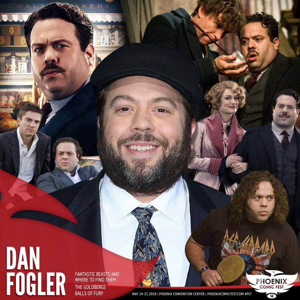 Dan Fogler PCF 2018