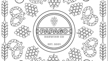 Papago Brewing Adult Coloring Party