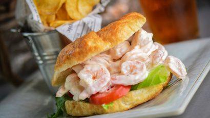 Crab & Mermaid Shrimp Salad Sandwich