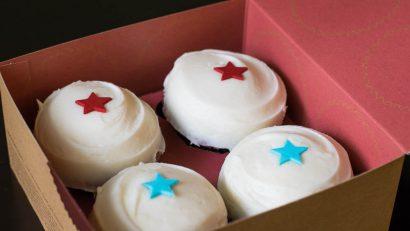 Sprinkles Cupcakes 4th of July Box