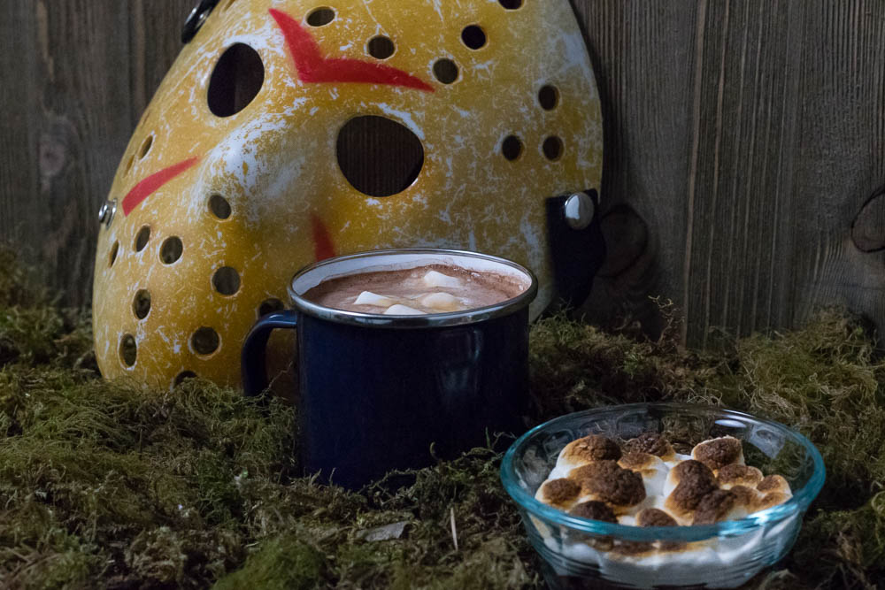 These Friday the 13th inspired snacks aren't your mother's recipe! 2geekswhoeat.com #HorrorMovie #Recipe #ad