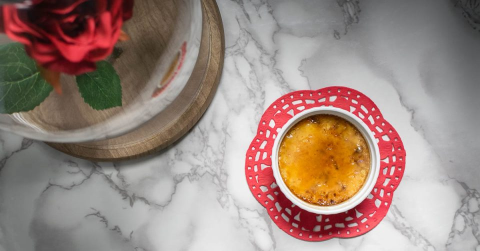 Enchanted Rose Creme Brulee: A Beauty and the Beast Inspired Recipe