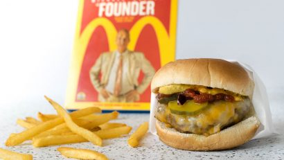 Movie Recipes   Hamburger Recipes   Fast Food Burger   Love those little fast food burgers? Inspired by the movie The Founder, we made a few upgrades. 2geekswhoeat.com [ad]