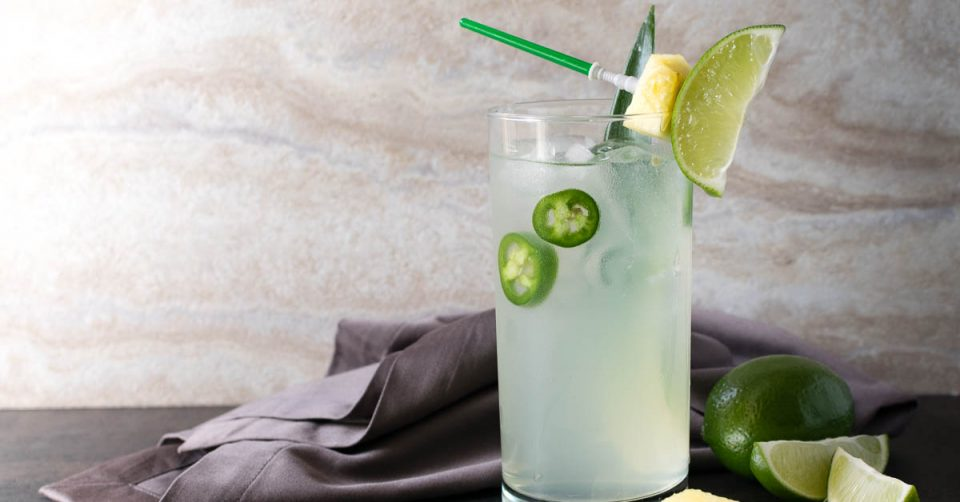 Star Wars Recipes | Cocktail Recipes | The Geeks have created two Star Wars inspired cocktails, The Limesaber and The Royal Guard which will be served at The Revenge of the Fifth party, but now you can make them at home! [ad]