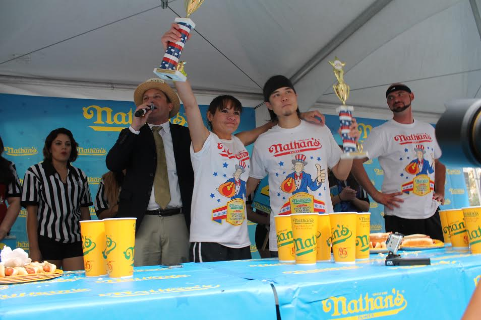 Nathan's Famous International Hot Dog Contest