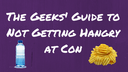 Convention Tips | Comicon Tips | Comic Con Tips | The Geeks love to visit conventions and have compiled some tips for how to stave off hunger and save a few bucks when it comes to food. 2geekswhoeat.com