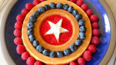 Cafe 222_Captain America Waffle
