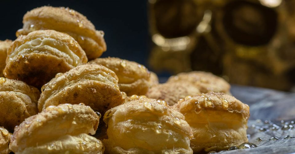 Puff Pastry Pirate Coins: A Pirates of the Caribbean: Dead Men Tell No Tales Recipe
