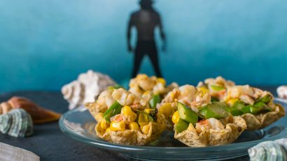 Comic Book Recipes | Appetizers | Lobster Recipes | With the excitement surrounding the new Justice League movie, The Geeks have created a new recipe, Aquaman's Lobster Bites! 2geekswhoeat.com