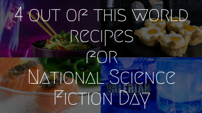 Movie Recipes | Movie Night | Science Fiction | The Geeks have rounded up 4 recipes, from cocktails to main dishes, perfect for celebrating National Science Fiction Day! 2geekswhoeat.com