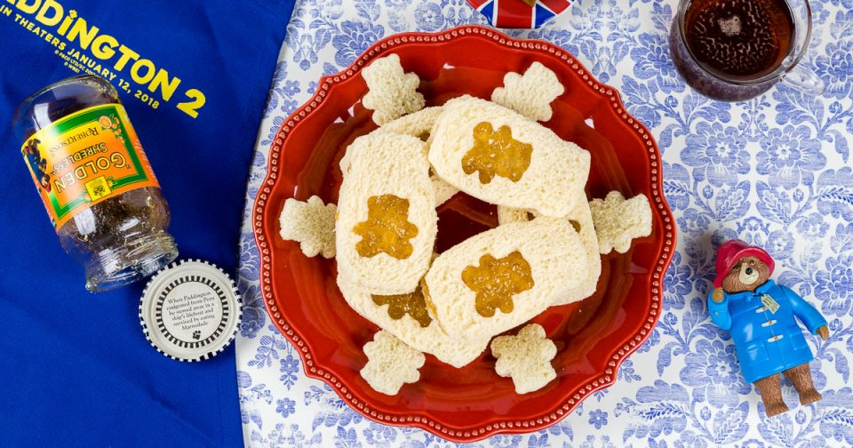 Marmalade Tea Sandwiches: A Paddington 2 Inspired Recipe