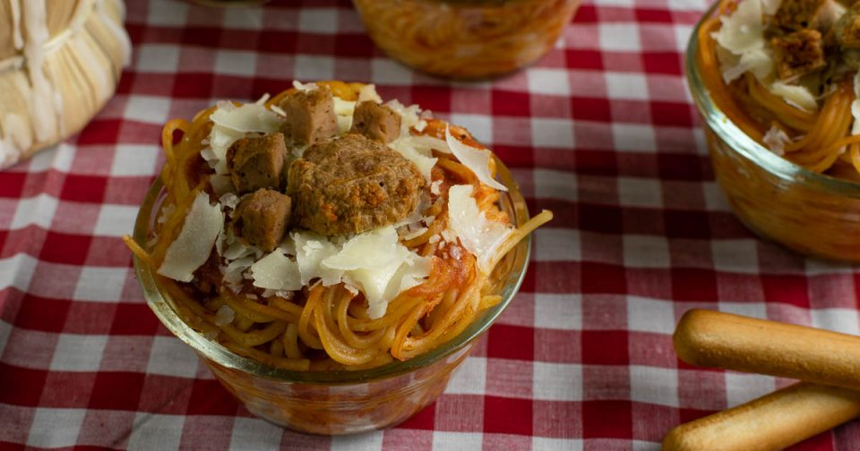 Disney Recipes | Spaghetti Recipes | Disney Food | Lady and the Tramp | The Geeks share a recipe, Paw Print Spaghetti Cups, for the release of Lady and the Tramp on Blu-ray and Digital HD. [sponsored] 2geekswhoeat.com