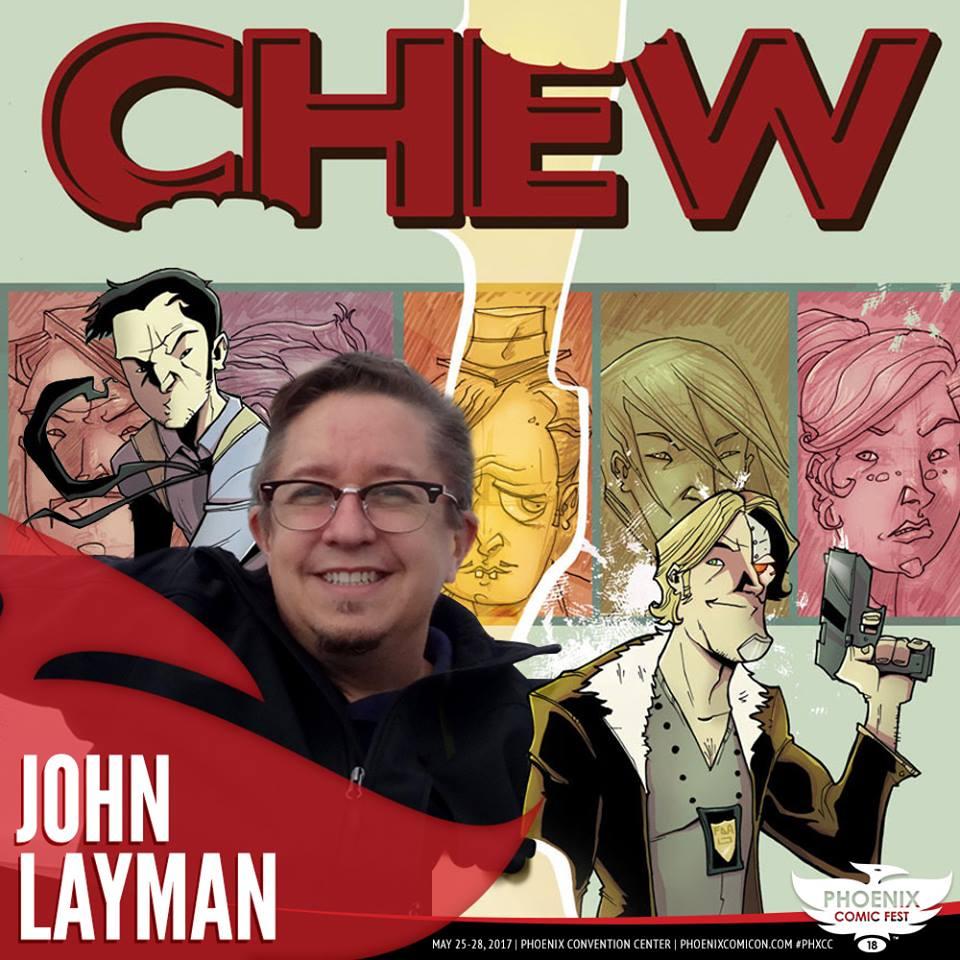 John Layman PCF 2018