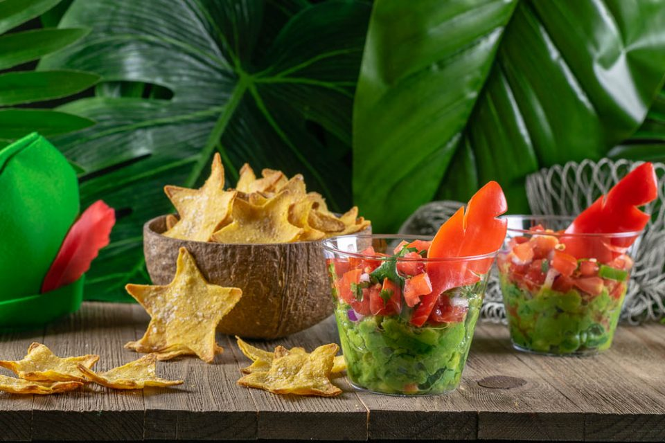 To celebrate the 65th Anniversary of Peter Pan and its Walt Disney Signature Collection Blu-ray release, The Geeks have created a recipe for Lost Boys Layer Dip and Second Star Chips! [sponsored] 2geekswhoeat.com #DisneyRecipes #DisneyFood #AppetizerRecipes #DipRecipes #PartyIdeas