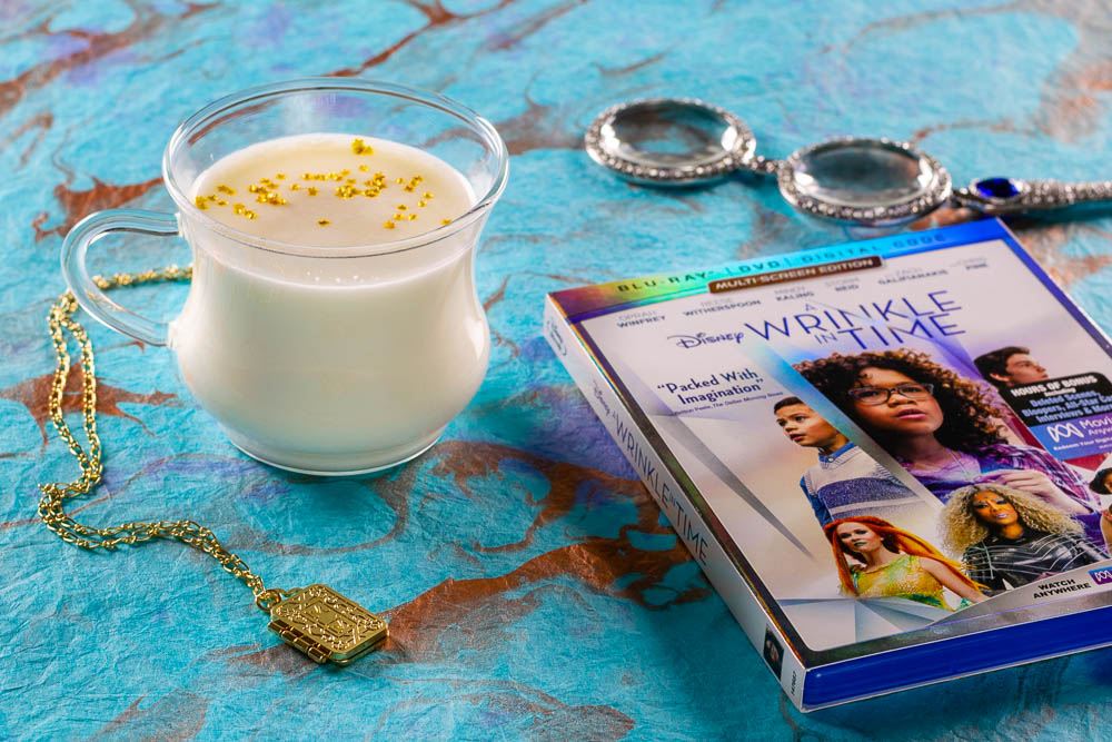 A Wrinkle in Time | Movie Food | Movie Recipes | To celebrate the home release of A Wrinkle in Time, The Geeks have created a recipe for Meg's Warmed Milk which is magically comforting! [sponsored] 2geekswhoeat.com