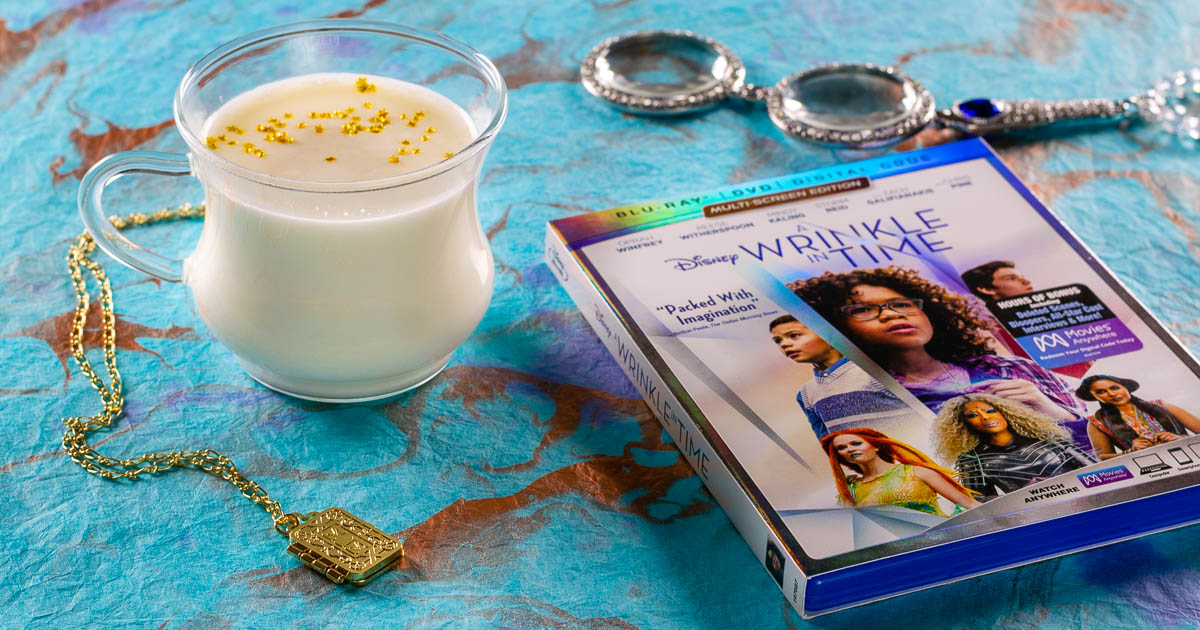 Meg's Warmed Milk: A Recipe Inspired by A Wrinkle in Time