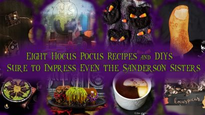 Hocus Pocus Recipes | Disney Recipes | Halloween Recipes | Halloween DIY | Halloween Party Ideas | The Geeks have rounded up 8 Hocus Pocus inspired recipes and DIYs by some of their favorite food and lifestyle bloggers! 2geekswhoeat.com
