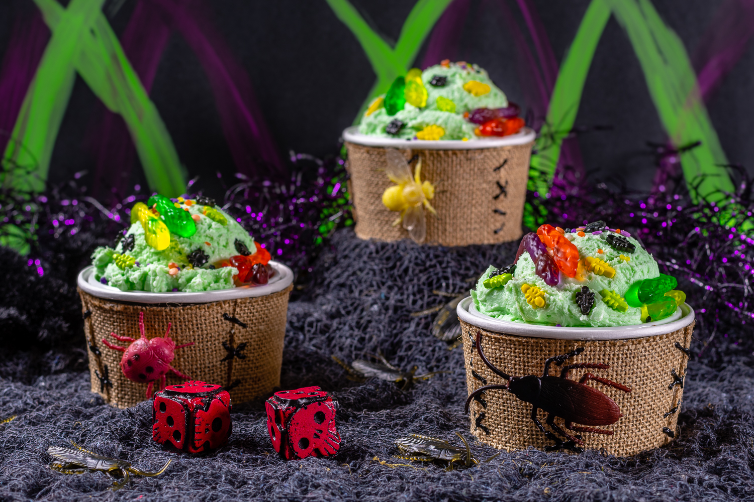 Oogie Boogie Ice Cream Sundaes: A Recipe Inspired by The Nightmare ...