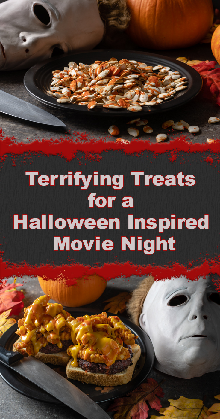Halloween | Horror Movie Recipes | Movie Night | Excited for the home release of 2018's Halloween, the Geeks have put together a Halloween Inspired Movie Night guide. [sponsored] 2geekswhoeat.com