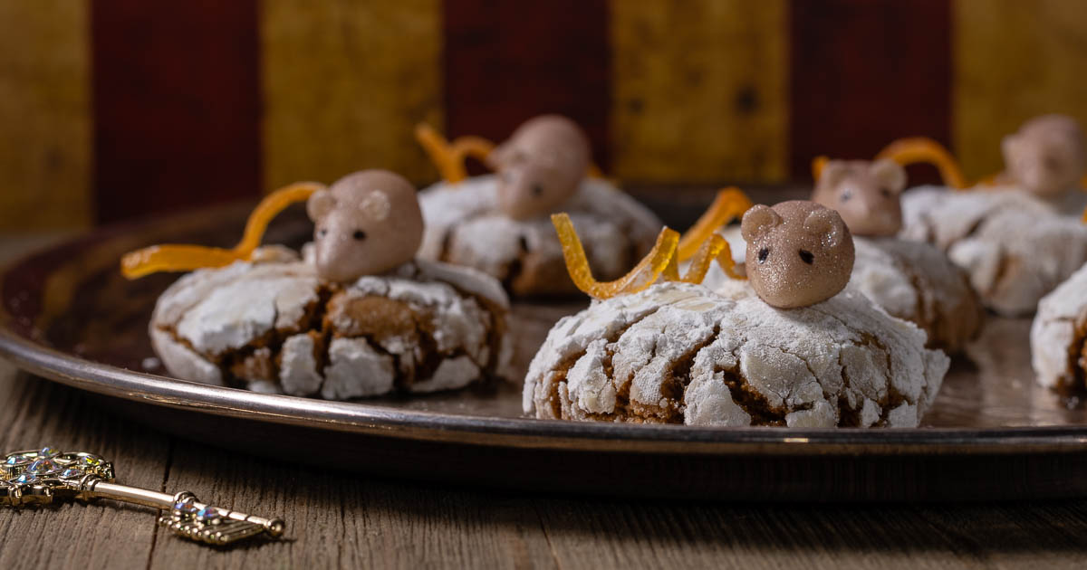 Disney Recipes | Christmas Recipes | Crinkle Cookies | [Sponsored] Excited for the Blu-ray release of The Nutcracker and the Four Realms, The Geeks have created a recipe for Mother Ginger Crinkle Cookies. These cookies are sure to impress! 2geekswhoeat.com