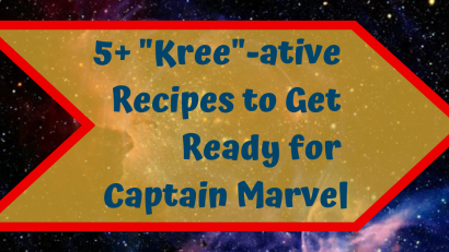 Captain Marvel Recipe Round Up