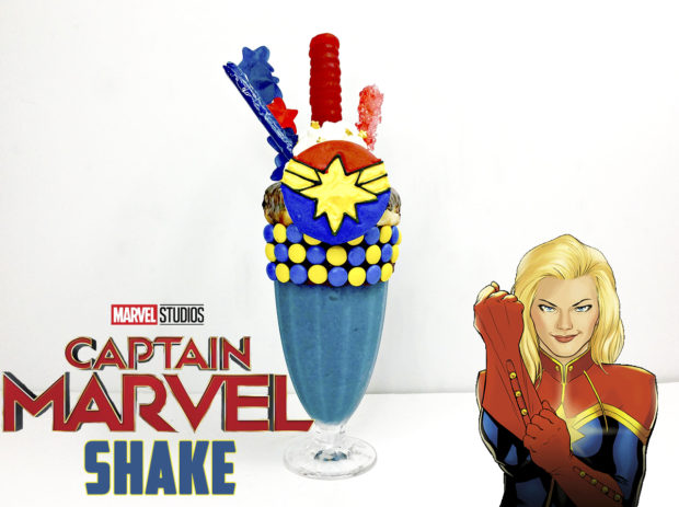 Captain Marvel Extreme Shake from JaMonkey