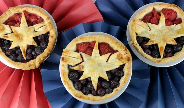 Captain Marvel Pies from Marvel