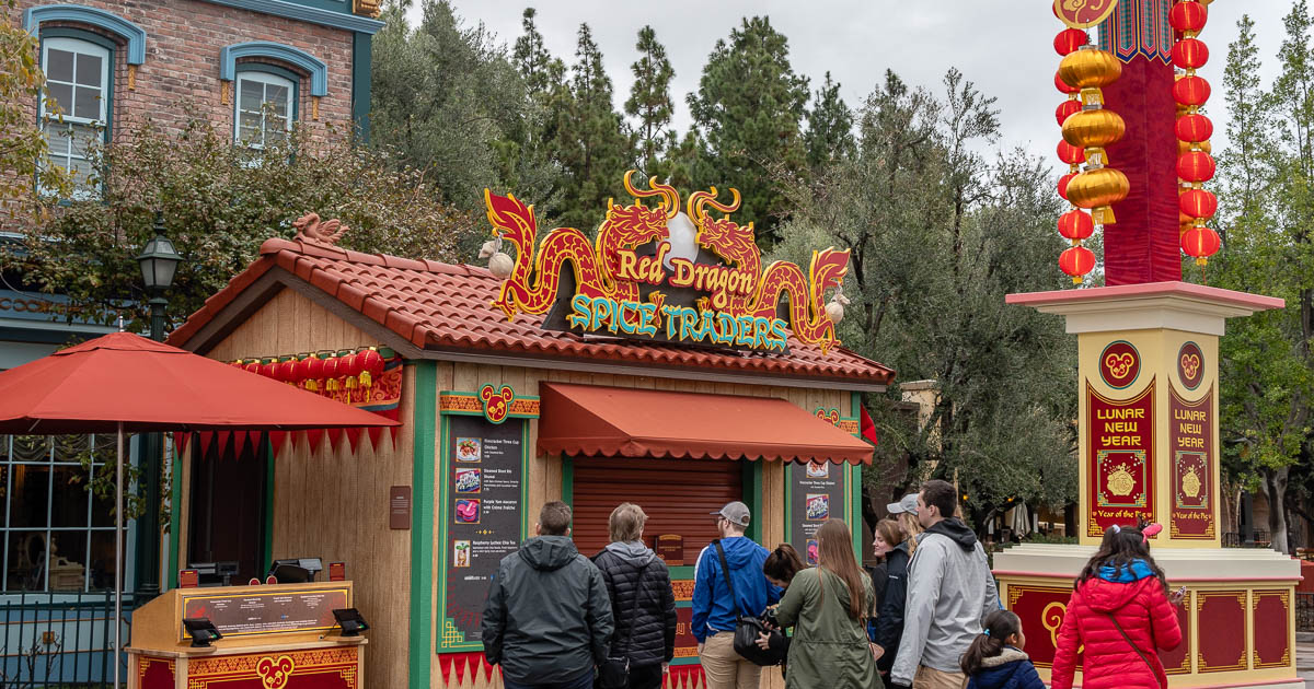 Disneyland | Lunar New Year | Food Reviews | Disneyland is hosting a Lunar New Year celebration and The Geeks are here to tell you what to eat! 2geekswhoeat.com