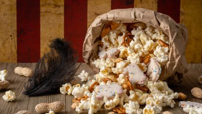 Dumbo | Disney Recipes | Snacks | Circus Themed Party | Want to throw a Circus Themed Party inspired by Dumbo? The Geeks have you covered with their whimsical Circus Snack Mix! 2geekswhoeat.com