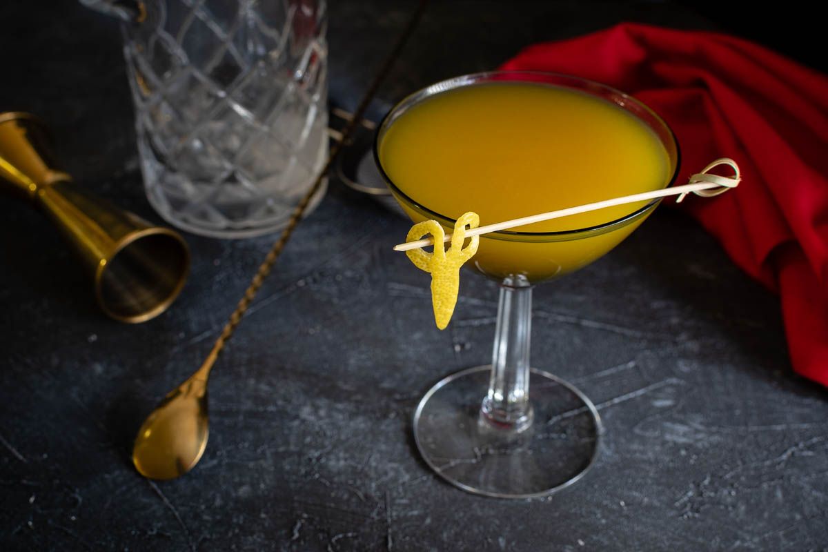 Something Sinister: An Us Inspired Cocktail Recipe