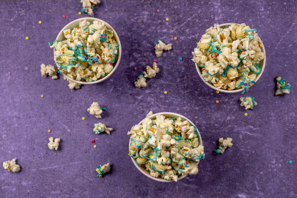 Popcorn Recipes | Easy Recipes | Movie Night Recipes | The Geeks have created a new recipe inspired by Paramount Pictures' Wonder Park, Wonder Popcorn. This popcorn is bright and fun just like the film that inspired it! 2geekswhoeat.com
