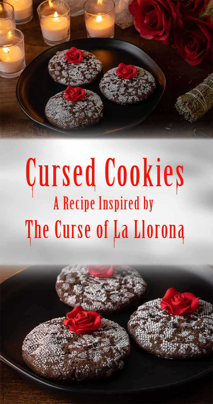 Horror Recipes | Halloween Recipes | Horror Food | Cookie Recipes | Are you ready for the scares of The Curse of La Llorona? The Geeks have created a spooky and delicious recipe for Cursed Cookies inspired by the film. 2geekswhoeat.com