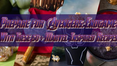 Avengers Recipes | Marvel Recipes | Celebrate the release of Avengers: Endgame with this massive round up of recipes! 2geekswhoeat.com