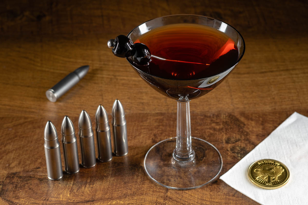 John Wick | Cocktail Recipes | Manhattan Recipes | There are two things that Matthew really enjoys, cocktails and John Wick movies. In preparation of John Wick: Chapter 3: Parabellum, he has modified a Manhattan cocktail to something that John Wick might enjoy. 2geekswhoeat.com