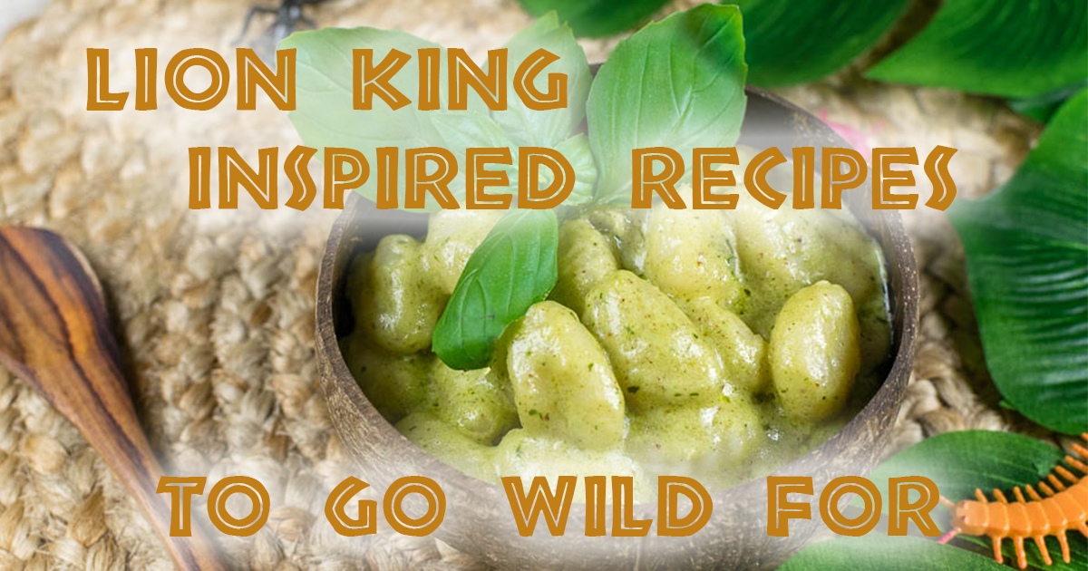The Lion King | Disney Recipes | Lion King Recipes | The Geeks have rounded up some of their favorite recipes inspired by The Lion King to celebrate its live action remake! 2geekswhoeat.com