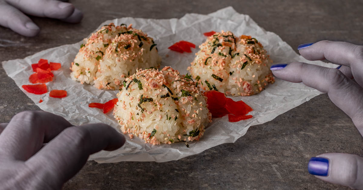 Horror Movie Recipes | Halloween Recipes | Onigiri | Movie Night Ideas | Inspired by the Shudder debut of One Cut of the Dead, The Geeks have come up with a fun and tasty recipe for Onigiri Brains! 2geekswhoeat.com