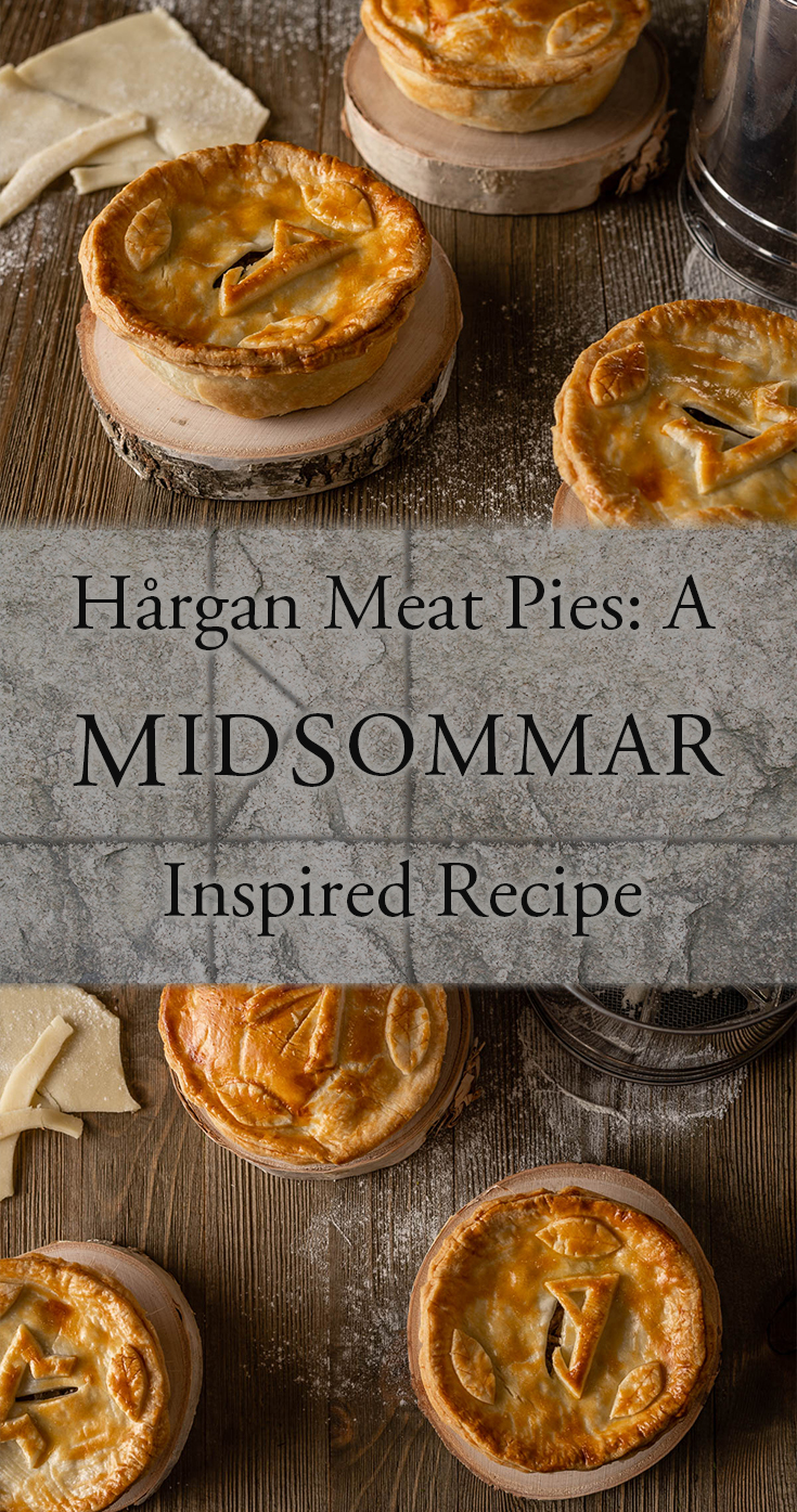 Midsommar | Horror Movie Recipes | Halloween Recipes | To mark the blu-ray release of Midsommar, The Geeks have created 2 brand new recipes, the 1st of which is Hårgan Meat Pies similar to those seen in the movie! 2geekswhoeat.com