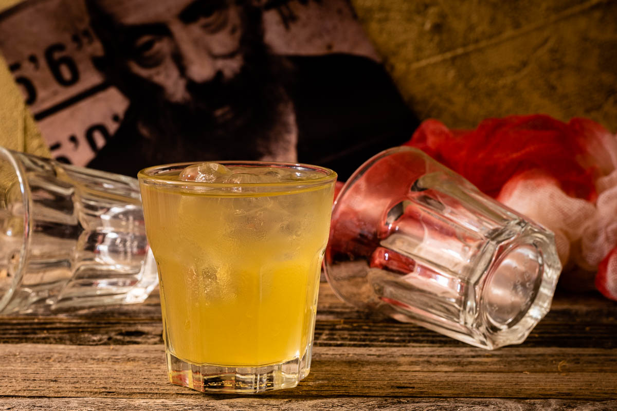 Inspired by Rob Zombie's latest film, 3 From Hell, The Geeks have created a Sotol based cocktail and tribute to Sid Haig called Spaulding's Last Laugh. 2geekswhoeat.com #3FromHell #HorrorMovieRecipes #MovieCocktails #CraftCocktails #SotolRecipes #HorrorMovies #GeekyRecipes