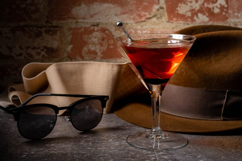 The Invisible Man-hattan: An Invisible Man Inspired Recipe