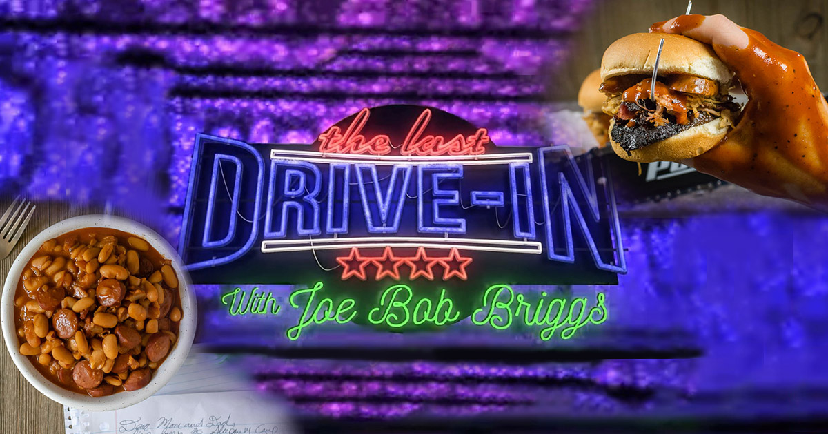 In preparation for Season 2 of The Last Drive-In, The Geeks have put together all of their recipes inspired by movies shown through out the different specials and seasons! 2geekswhoeat.com #TheLastDriveIn #HorrorMovieFood #HorrorMovies #HorrorMovieRecipes #MovieNight #MovieSnacks