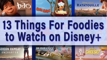 The Geeks have put together a comprehensive list of great movies and shows for foodies on Disney+ including Ratatouille and Gordon Ramsay: Uncharted! 2geekswhoeat.com #DisneyPlus #FoodieFun #Movies #TVShows