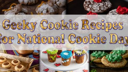 Looking for a fun way to celebrate National Cookie Day? The Geeks have put together some of their favorite geeky cookie recipes perfect for anytime you are craving cookies! 2geekswhoeat.com #GeekyRecipes #GeekyFood #GeekyCookies #CookieRecipes #CookieParty #DessertRecipes