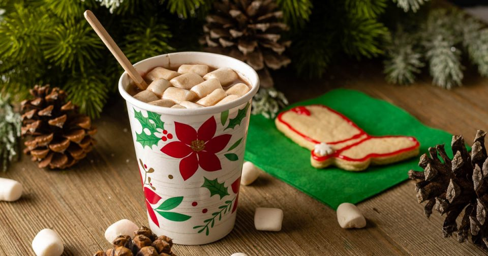 To get ready for Shudder special Joe Bob Saves Christmas, The Geeks have created a recipe for Boozy Vegan Hot Cocoa perfect for a movie night! 2geekswhoeat.com #VeganHotChocolate #HolidayDrinks #HolidayCocktails #ChristmasCocktails #TheLastDriveIn #Vegan #VeganRecipes #Shudder