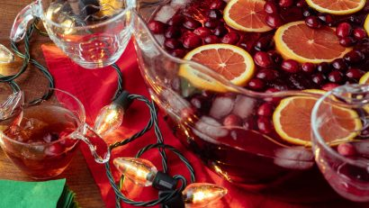 The Geeks have come up with one more recipe in time for Christmas, Shari's Famous Punch inspired by the holiday horror hit, Secret Santa! 2geekswhoeat.com #HolidayRecipes #HorrorMovieRecipes #DrinkRecipes #HolidayPunch #ChristmasRecipes #SecretSanta